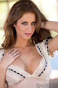 Emily Addison Strips Fingers - 00