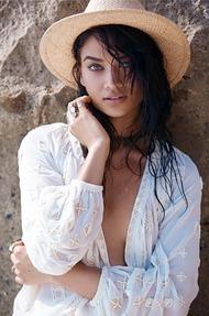 Shanina Shaik Topless Seaside - 09