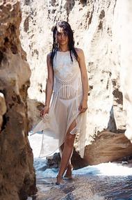Shanina Shaik Topless Seaside - 10