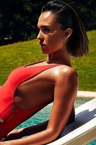 Jessica Alba In Hot Swimwear Collection - 00