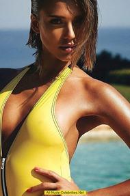 Jessica Alba In Hot Swimwear Collection - 07