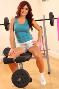 India Reynolds In The Gym - 04