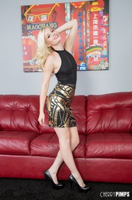 Horny Blonde Charlotte - 00