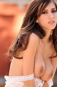 April O'Neil Strips Down Her Mini Skirt - 09
