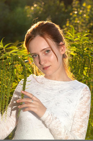 Redhead May In The Nature - 00