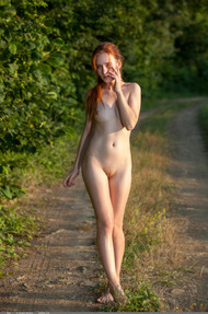 Redhead May In The Nature - 02