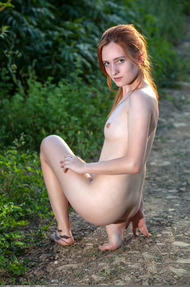 Redhead May In The Nature - 08
