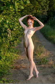 Redhead May In The Nature - 12
