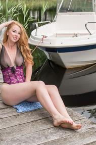 Hot sexy Helene is in a flirty mood - 06