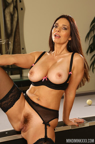 Mindi Mink in Pool Table Sexy Solo - 14