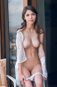 Mila Azul Dressed In Nothing But A Lacy Top - 10