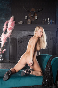 beautiful blonde Sarika A - 12