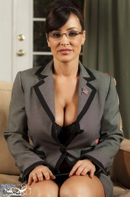 Lisa Ann Big Boobs Secretary - 00