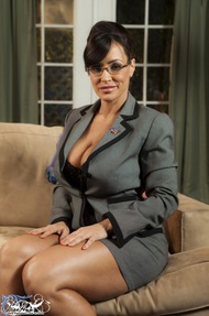 Lisa Ann Big Boobs Secretary - 01