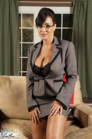 Lisa Ann Big Boobs Secretary - 03
