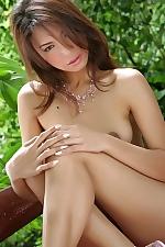 Hot naked asian sweety