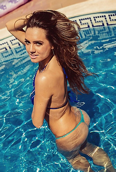 Jamie Jenkins In The Pool