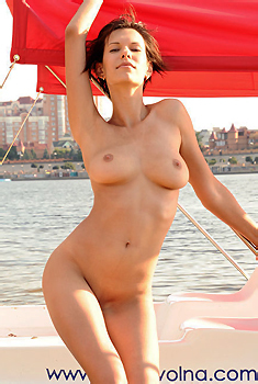 Susi On A Boat
