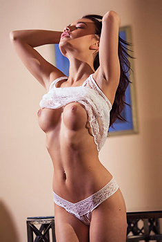 Nici Dee In White Lace