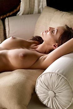 Ivette Blanche Topless On Bed