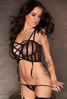Tess Taylor Arlington Black Lingerie