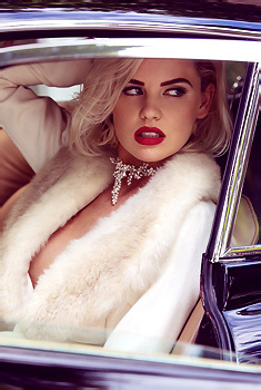 Kayslee Collins In A Car