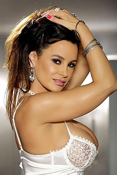 Lisa Ann In Sexy Lace Lingerie