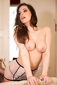Anastasia Harris Sexy Lingerie
