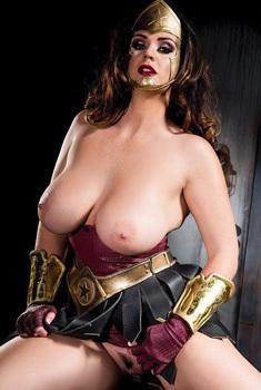Alison Tyler As Wonder Woman