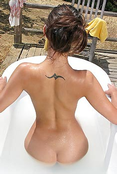 Georgia Jones Outdoor Bath