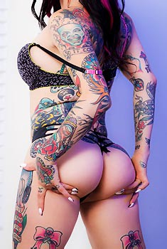 Hot Tattooed Babe Joanna Angel