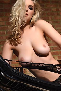 Jess Davies Takes Off Her Lingerie