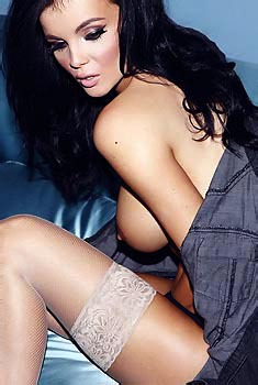 Emma Glover Rips Off Her Top
