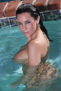Laura Lee In The Pool