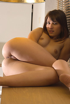 Mina Gets Nude In The Kitchen