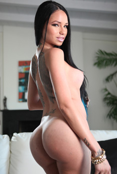 Black Haired Bitch Raven Bay Round Ass