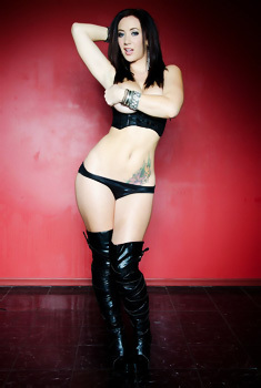 Jayden Jaymes In Sexy Leather Boots