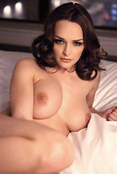 Kristen Pyles Strips On A Bed