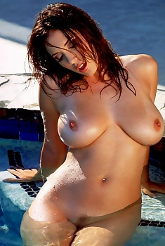 Jelena Jensen Hot Water Pictures, Big Boobs