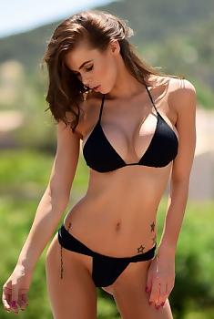 Jennifer Ann Black Bikini
