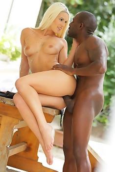 Blanche Bradburry Interracial Sex