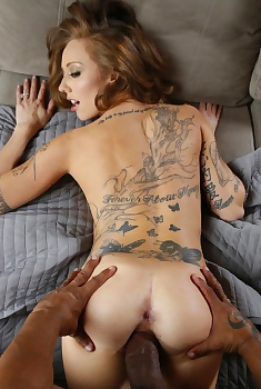 Kassie Kay Taking A Huge Dick In Her Pussy