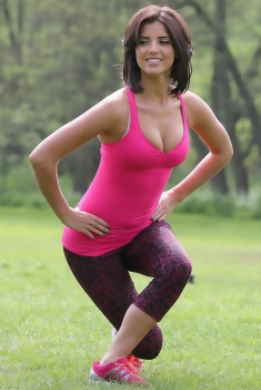Lucy Mecklenburgh Sporty Babe