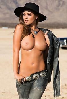 Chelsie Aryn Playboy Exotic Brunette