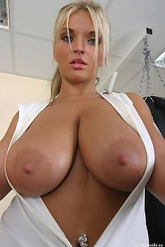 Ines Cudna Natural Big Boobs