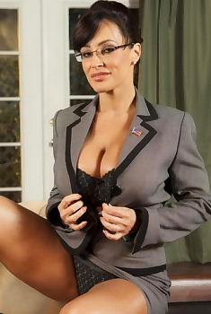 Lisa Ann Big Boobs Secretary