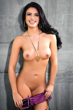 Sexy Mexican Playmate Vanessa