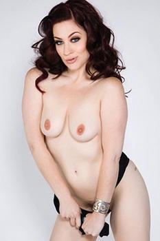 Perfect Redhead Pornstar Jessica Ryan Stripping