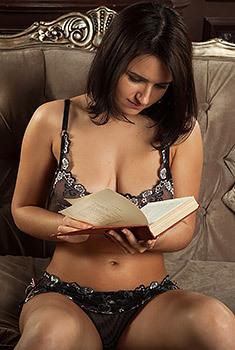 Big Boobed Bookworm
