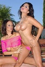 Nikki Nova and Sunny Leone